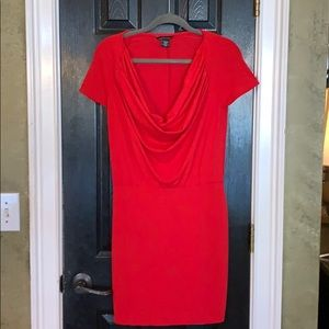 Moda International red dress small